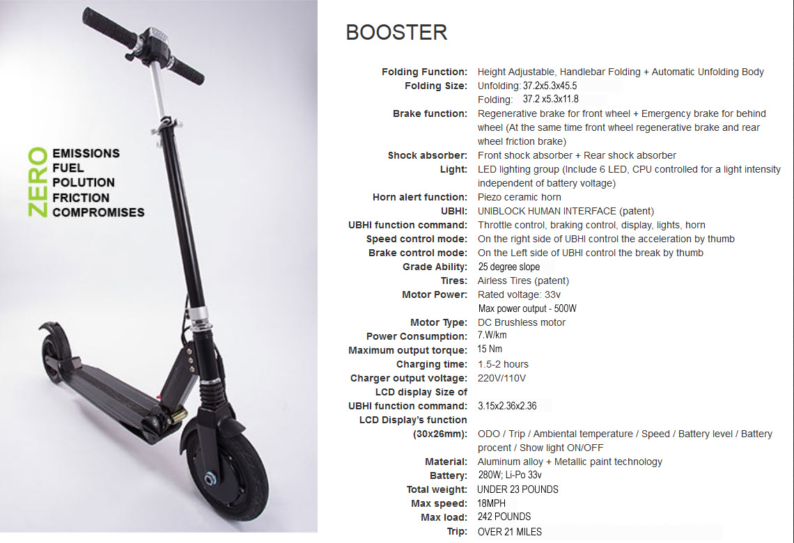 white uscooters by e twow booster electric scooter 23 lbs. Black Bedroom Furniture Sets. Home Design Ideas